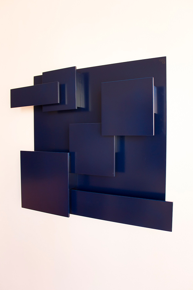 OLI13 LUIS ORGANIZER - blue joe