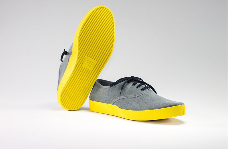 OLI13 OXFORD GREY-YELLOW CANVAS