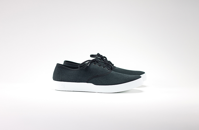 OLI13 OXFORD BLACK-WHITE CANVAS