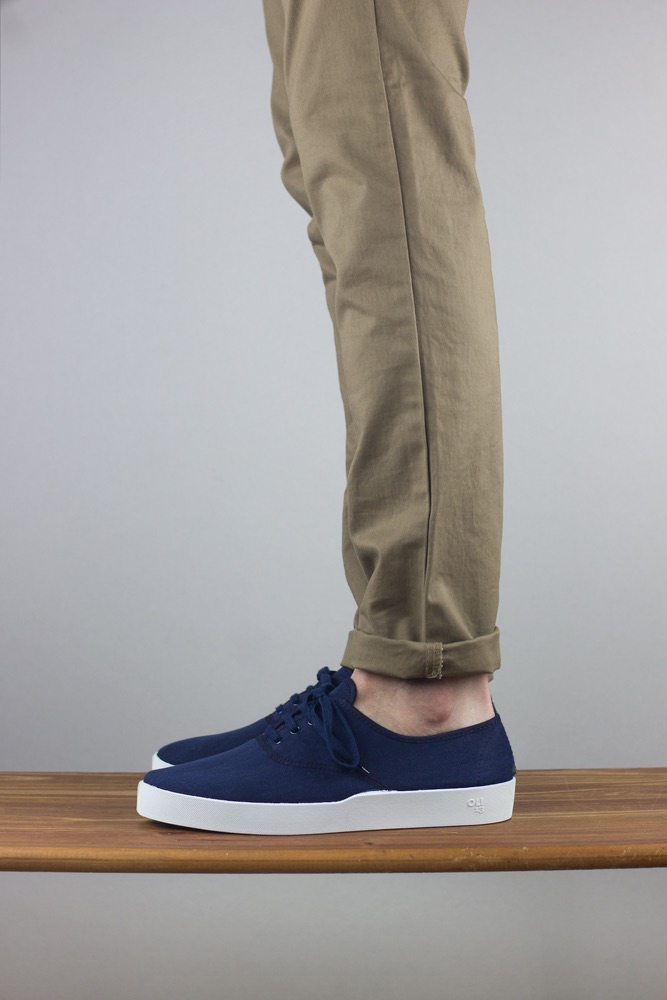 OLI13 oxford navyblue white