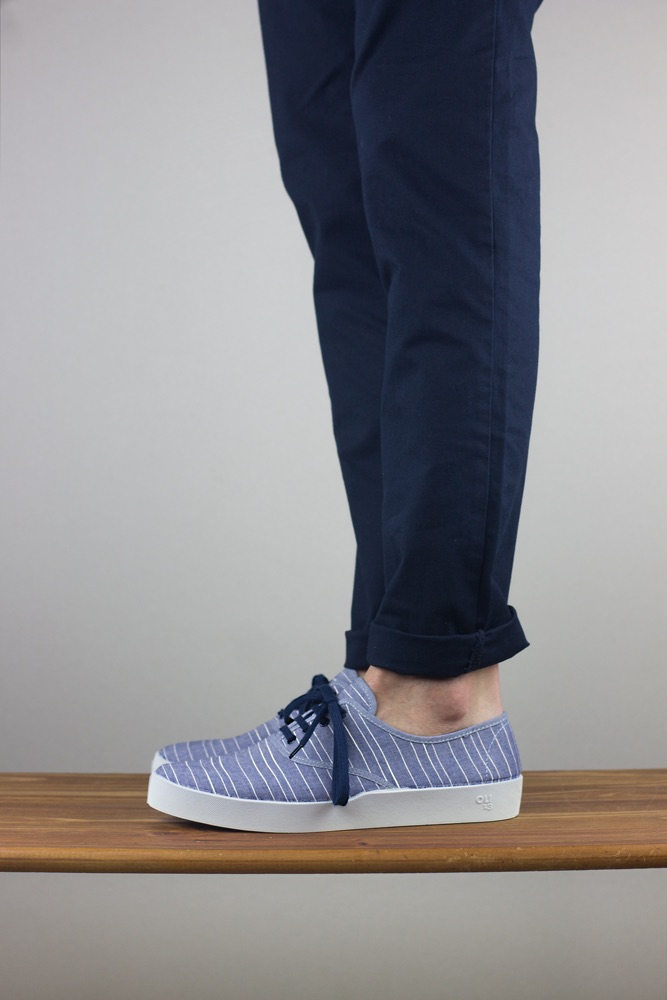 Oli13 oxford stripes blue white